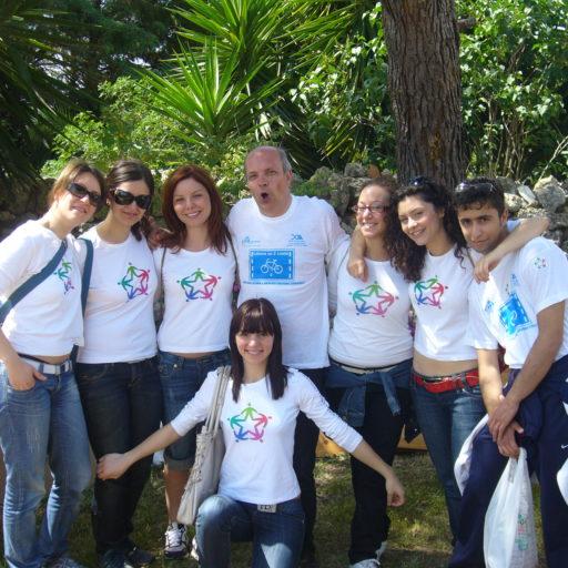 Francesca, Annalisa, Miriam, Sabrina, Angela, Fabio, Giuseppe