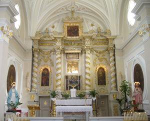 Chiesa Cristo Crocifisso - altare maggiore