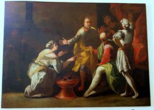 Quadreria Imperiali - San Pietro rinnega Cristo