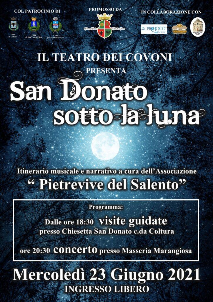 San Donato sotto la luna