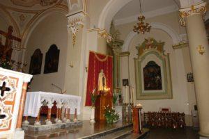 Chiesa Santa Maria della neve - altare